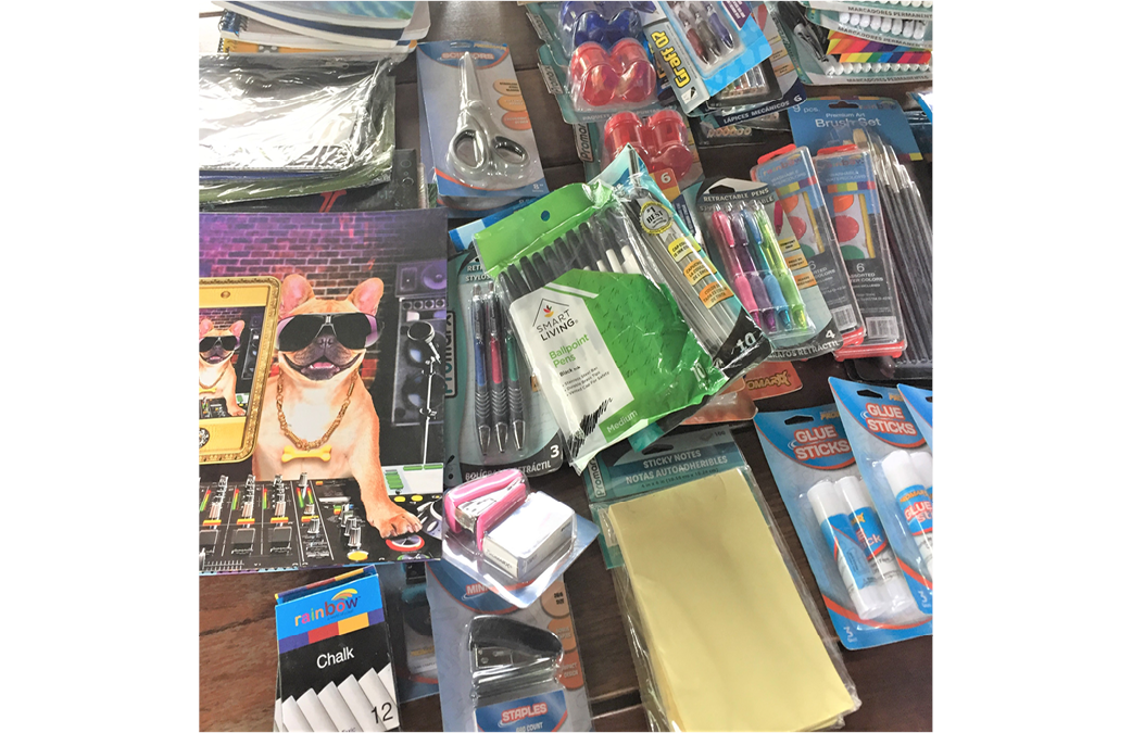Host a Collection Drive for Back-To-School Basket of Miracles
