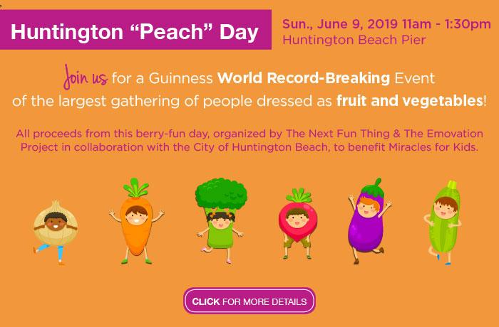 Huntington Peach Day - June 9th