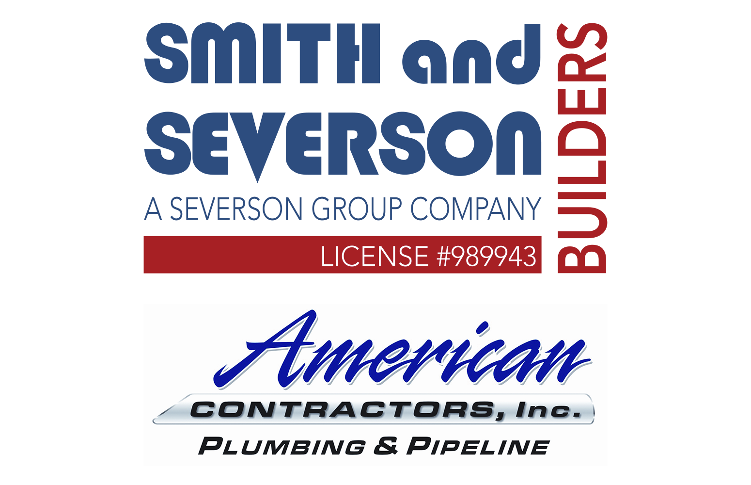 Smith and Severson Builders + American Contractors